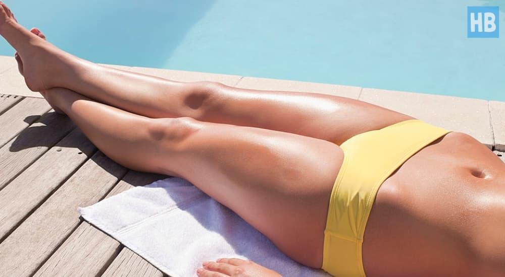 keep your bikini area hydrated and moisturized